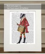 Badger Minstrel FabFunky Book Print