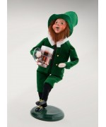 NEW - Byers' Choice Leprechaun with Pint - Irish