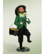 NEW - Byers' Choice Leprechaun with Pot of Gold - Irish