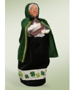 Byers' Choice Irish Mrs. Claus