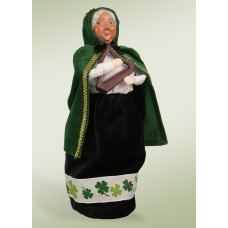 TEMPORARILY OUT OF STOCK - Byers' Choice Irish Mrs. Claus