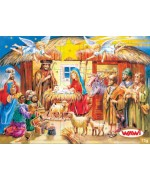 TEMPORARILY OUT OF STOCK - RELIGIOUS SCENE ADVENT CALENDAR