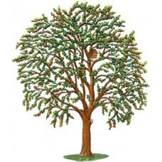 Cherry Tree Standing Pewter Wilhelm Schweizer