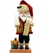 Santa with a List Christian Ulbricht Nutcracker