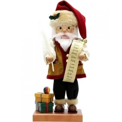 Santa With A List Christian Ulbricht Nutcracker