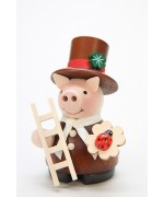 NEW - Christian Ulbricht Mini Chimney Sweep Pig