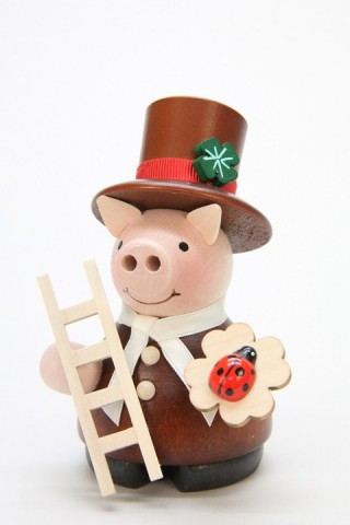 Christian Ulbricht Mini Chimney Sweep Pig