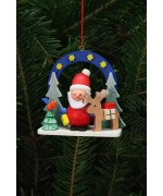 Christian Ulbricht German Ornament Starry Sky with Santa