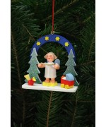 Christian Ulbricht German Ornament Starry Sky with Angel - TEMPORARILY OUT OF STOCK