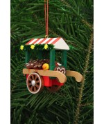Christian Ulbricht German Ornament Gingerbread Market Cart