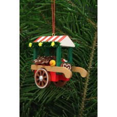 Christian Ulbricht German Ornament Gingerbread Market Cart - TEMPORARILY OUT OF STOCK