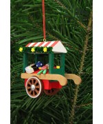 Christian Ulbricht German Ornament Toys Market Cart