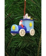 TEMPORARILY OUT OF STOCK - Christian Ulbricht German Ornament Santa in Truck