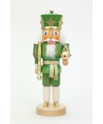 NEW - Christian Ulbricht Nutcracker Green King