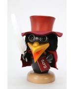 NEW - Christian Ulbricht Wooden Figure Raven