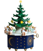 NEW - Wendt & Kuhn Christmas Tree Music Box