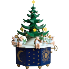 TEMPORARILY OUT OF STOCK - Wendt & Kuhn Christmas Tree Music Box