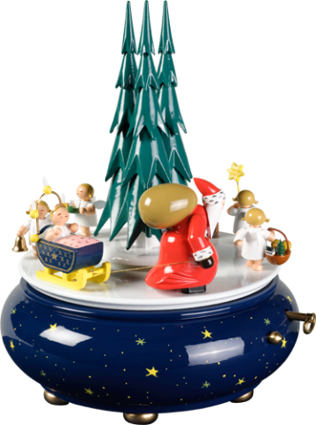 Wendt & Kuhn Christmas Procession Music Box TEMPORARILY OUT OF STOCK