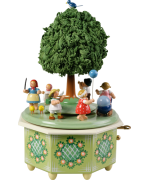 NEW - Wendt & Kuhn Children's Procession Music Box