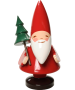 TEMPORARILY OUT OF STOCK - Wendt & Kuhn Pixie Santa with Tree Figurine