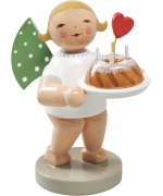NEW - Wendt & Kuhn Angel with Cake