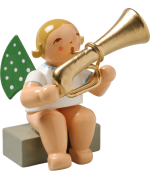 Wendt & Kuhn Orchestra Angel with Bass Trumpet Sitting