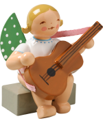 Wendt & Kuhn Orchestra Angel with Guitar Sitting