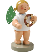 TEMPORARILY OUT OF STOCK - Wendt & Kuhn Orchestra Angel with Tambourine