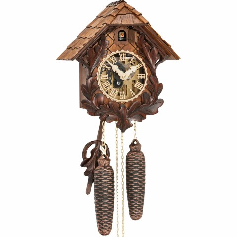 TEMPORARILY OUT OF STOCK - Hubert Herr Cuckoo-Cuckoo Clock 8-day-movement Carved