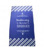 """Towel """"Bratzn weg"""""""