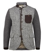 Luis Trenker Knit Wool Jacket