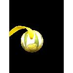 Christmas and Easter Egg - Yellow Flower