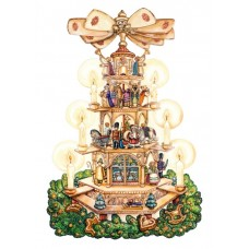 Coppenrath German Paper Advent Calendar - Christmas Pyramid - TEMPORARILY OUT OF STOCK