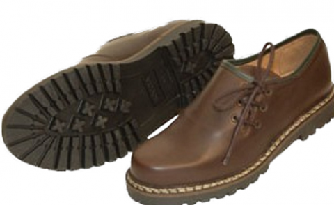 dirndl + bua Men's 'Brown Shoe'