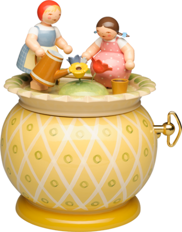 Wendt & Kuhn Two Girls Music Box TEMPORARILY OUT OF STOCK