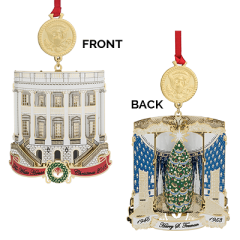 2018 White House Historical Christmas Ornament - Harry S Truman