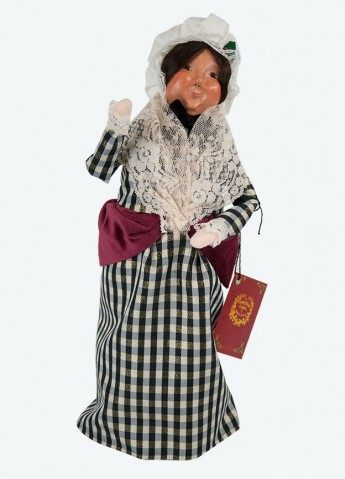 TEMPORARILY OUT OF STOCK - Byers Choice A Christmas Carol Mrs. Fezziwig
