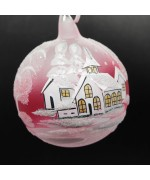 NEW - Christmas Easter Salzburg Hand Painted Ornament - Winter Forest