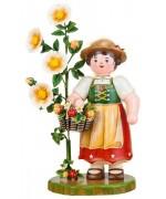 Lady Annabell Original HUBRIG Wooden Figuren