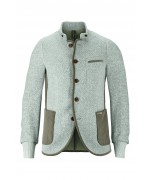 Luis Trenker SASCHA BOUCLE Jacket with edging
