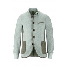 Luis Trenker SASCHA BOUCLE Jacket with edging