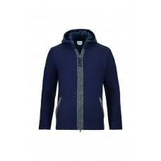 Luis Trenker Knit Jacket - Dark Blue