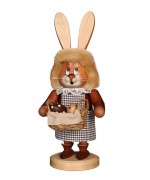 TEMPORARILY OUT OF STOCK -NEW - Christian Ulbricht Bunny Girl with Easter Basket