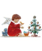 Angel with Tree Wilhelm Schweizer Christmas Pewter