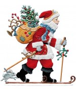 Jahresnikolaus 2018 Wilhelm Schweizer Christmas Pewter - TEMPORARILY OUT OF STOCK