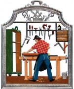 The Carpenter Window Wall Hanging Wilhelm Schweizer