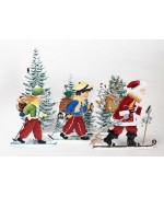 A Day on the Slopes Wilhelm Schweizer Pewter Set - SOLD OUT