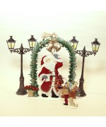 NEW - Santa Claus is Coming to Town Wilhelm Schweizer Pewter Set - Weekly Special 14