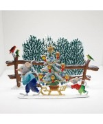 NEW - Christmas Tree Shopping Wilhelm Schweizer Pewter Set - Weekly Special 9