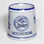 MIDDLEBURG Large German Saltware Mug